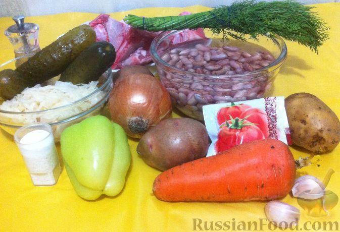 """Фото приготовления рецепта: Пикантный суп с курицей """"А-ля харчо"""" - шаг №3"""