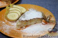 Фото к рецепту: Манник с бананами