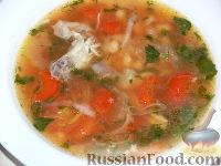 Фото к рецепту: Греческий суп фасолада