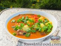 Фото к рецепту: Бограч - венгерский суп