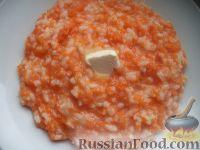 Фото к рецепту: Каша из тыквы с рисом на молоке