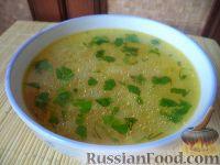 Фото к рецепту: Суп картофельный с вермишелью