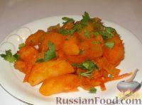Фото к рецепту: Рагу из овощей и картофеля