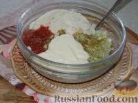 Фото приготовления рецепта: Капустные котлеты - шаг №3