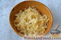 Фото приготовления рецепта: Рыба, запеченная в духовке с овощами, под соусом - шаг №6