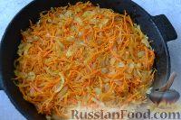 Фото приготовления рецепта: Рыба, запеченная в духовке с овощами, под соусом - шаг №8