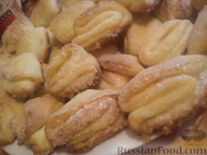 рецепт творожного печенья утиные лапки