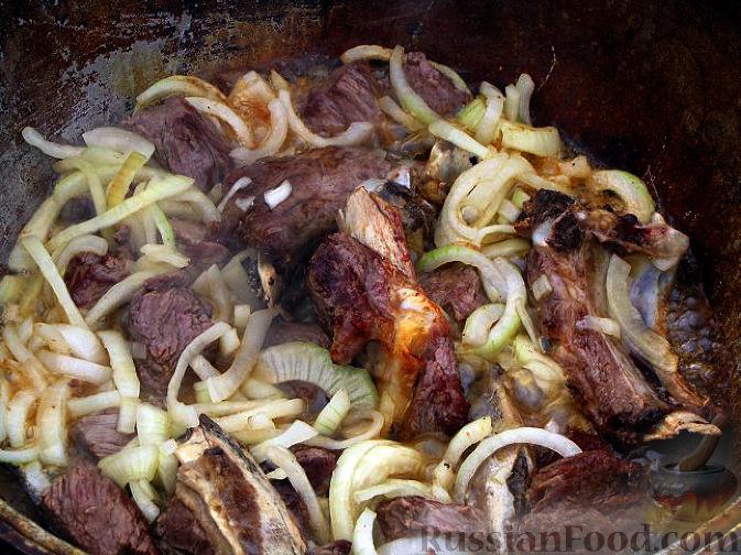 Фото приготовления рецепта: Шурпа персидская - шаг №3