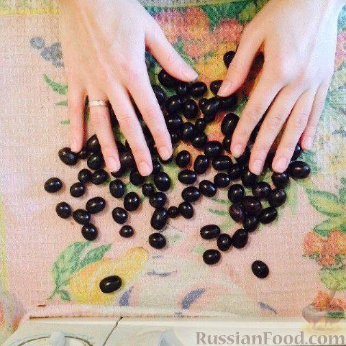 Фото приготовления рецепта: Шарлотка с виноградом - шаг №1