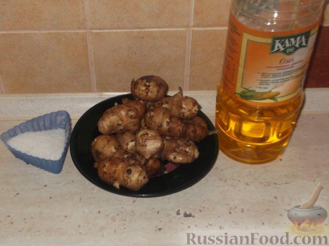 Фото приготовления рецепта: Топинамбур жареный - шаг №1
