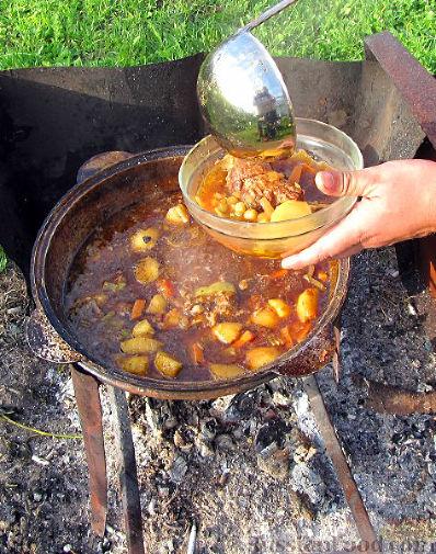 Фото приготовления рецепта: Шурпа персидская - шаг №10