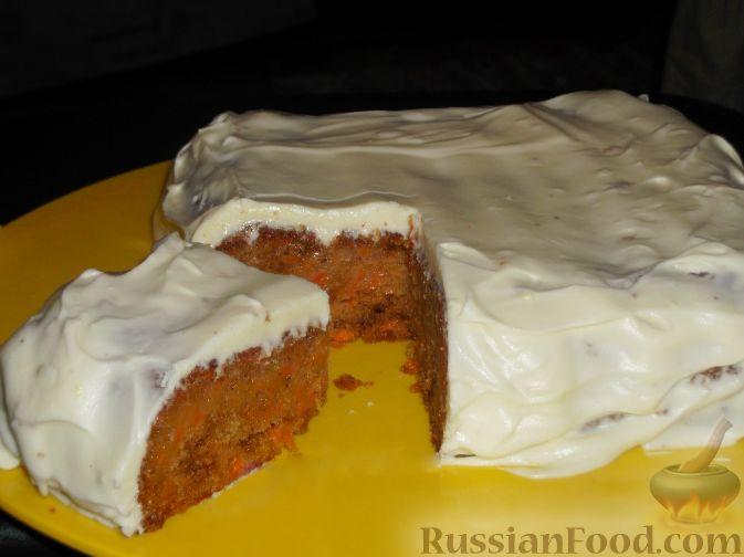 морковный торт лучший рецепт со сметаной пошаговый рецепт с фото