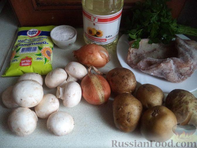 рецепты салатов из жареных грибов с фото