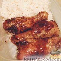 Фото к рецепту: Куриные ножки в духовке