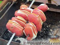 Фото приготовления рецепта: Картопля с салом на углях - шаг №1
