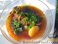 Фото к рецепту: Шурпа персидская