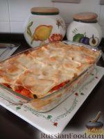 Фото к рецепту: Лазанья с овощами