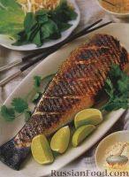 Фото к рецепту: Форель с овощами по-тайски