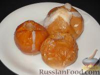 Фото к рецепту: Яблоки, запеченные с сахаром