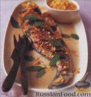 Фото к рецепту: Морской окунь в кокосовом соусе