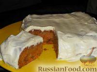 Фото к рецепту: Морковный торт со сметаной