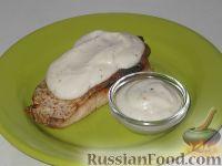 Фото к рецепту: Сметанный соус к рыбе