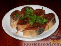 Фото к рецепту: Скумбрия, маринованная в соевом соусе