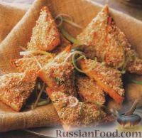 Фото к рецепту: Закусочные тосты с креветками