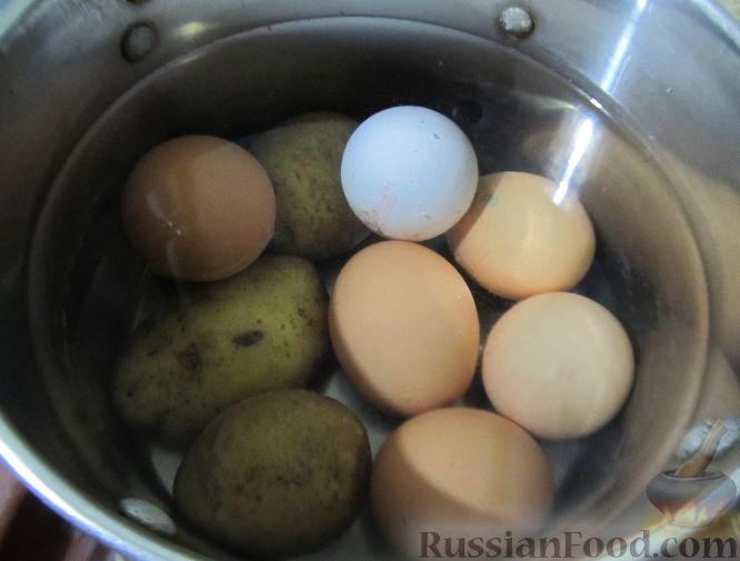 Фото приготовления рецепта: Капустный суп с рисом и сливками - шаг №8