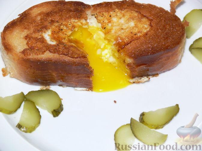 что приготовить на завтрак из хлеба и яиц