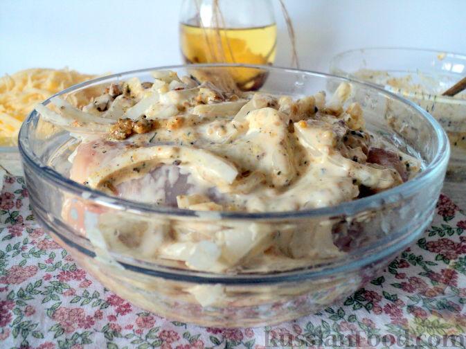 бедра под сыром в духовке рецепт