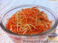 Фото к рецепту: Морковь с сельдереем по-корейски