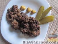 Фото к рецепту: Рубленые печеночные котлеты