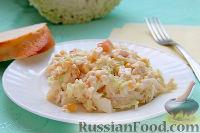 Фото к рецепту: Салат из крабовых палочек