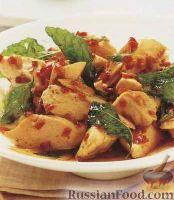 Фото к рецепту: Острое куриное филе