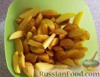Фото приготовления рецепта: Картошка по-деревенски в духовке - шаг №1