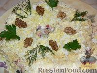 """Фото к рецепту: Салат к праздничному столу """"Черный жемчуг"""""""