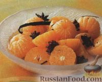 Фото к рецепту: Мандарины в пряном сиропе