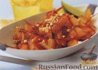 Фото к рецепту: Ананас, жаренный с перцем чили
