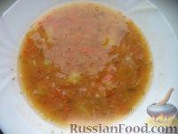 Фото к рецепту: Чечевичный суп с квашеной капустой