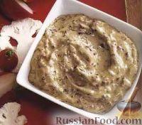 Фото к рецепту: Соус айоли с оливковой пастой