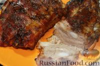 Фото к рецепту: Пряная свинина с соусом барбекю
