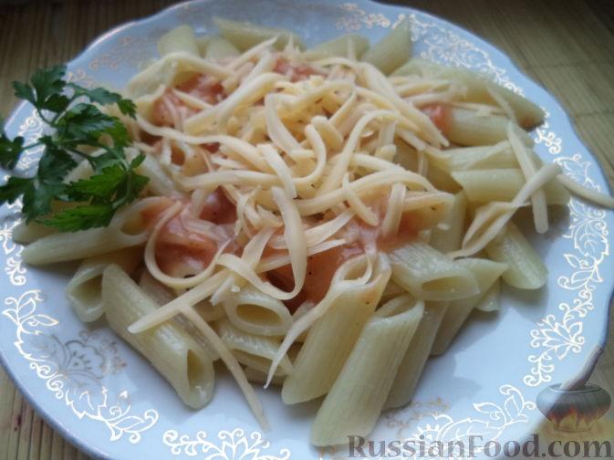 рецепт быстрого соуса к лапше с сыром