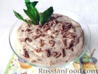 Фото к рецепту: Быстрый банановый мусс с какао