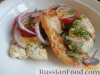 Фото к рецепту: Сочные куриные отбивные по-провански