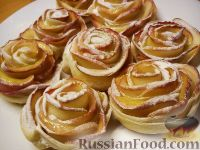"""Фото к рецепту: Съедобные """"розы"""""""