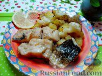 Фото к рецепту: Рыба с овощами в пароварке