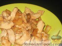Фото к рецепту: Куриные филе с ананасом