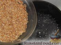 Фото приготовления рецепта: Каша из дробленой пшеничной крупы - шаг №4