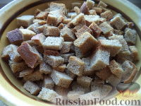Фото к рецепту: Сухарики из хлеба